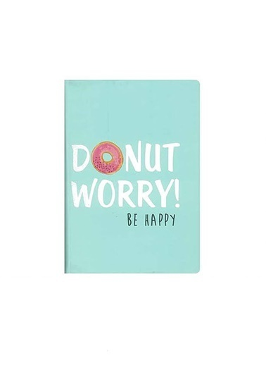 LWP Shop Nanu Nana Donut Worry A5 Not Defteri Pembe